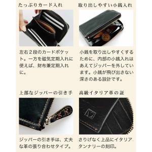 財布 メンズ 小さい 財布 レディース 小さめ ミニ財布 レディース コンパクト 財布 メンズ ミニマリスト レザージー 女性 ギフト プレゼント 二つ折り財布 本革|wraps|18