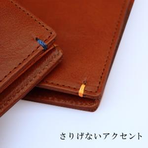 財布 メンズ 二つ折り ブランド 二つ折り財布 本革 イタリア革 leather-g wraps 09