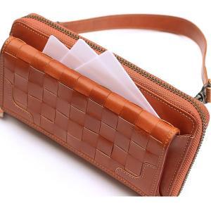 ポシェット レディース 斜めがけ ポシェット財布 レディース 長財布 レディース ブランド 革 本革 ラマーレ 大容量 使いやすい グリーン 軽量 レザー|wraps|10