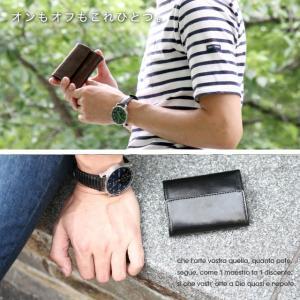 財布 メンズ 小さい 財布 軽量 薄い 財布 コンパクト 本革 ミニマリスト 三つ折り メンズ ミニ財布 革 レザー おしゃれ 使いやすい ブランド VEOL 財布|wraps|15