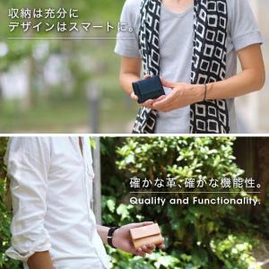 財布 メンズ 小さい 財布 軽量 薄い 財布 コンパクト 本革 ミニマリスト 三つ折り メンズ ミニ財布 革 レザー おしゃれ 使いやすい ブランド VEOL 財布|wraps|04