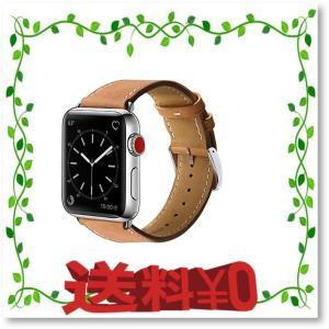 BRG コンパチブル apple watch バンド 本革 ビジネススタイル アップルウォッチバンド...