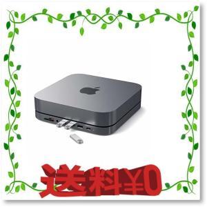 Satechi Type-C アルミニウム スタンド & ハブ - USB-C データポート, Mi...