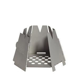 「商品情報」 折り畳み式ネイチャーストーブ。 落ち葉や枝等を燃料として使用します。 収納ケース付で軽...