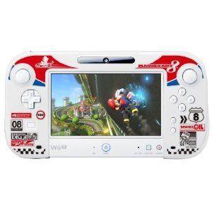 ★11月20日発送★新品】WiiU周辺機器 シリコンカバーコレクション for Wii U GamePadマリオカート8 Type-A|wsm-store