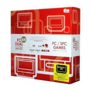 新品 ファミコン・スーファミ互換機 GAME JOY製 NEW FC DUAL (ニューエフシーデュアル)ファミコン・スーパーファミコン互換機|wsm-store