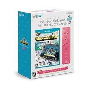 【★11月20日発送★新品】WiiUソフト Nintendo Land Wiiリモコンプラスセット (ピンク)|wsm-store