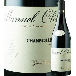 ワイン 赤ワイン シャンボール・ミュジニー ドメーヌ・マニュエル・オリヴィエ 2017年 フランス ブルゴーニュ フルボディ 750ml wine|wsommelier