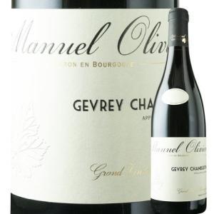 ワイン 赤ワイン ジュヴレ・シャンベルタン ドメーヌ・マニュエル・オリヴィエ 2016年 フランス ブルゴーニュ フルボディ 750ml wine|wsommelier