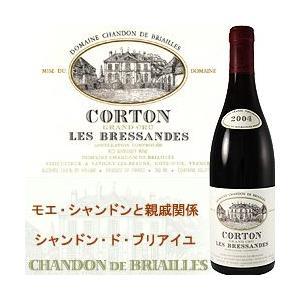 赤ワイン コルトン・レ・ブレッサンド・グラン・クリュ ドメーヌ・シャンドン・ド・ブリアイユ 2004年 フランス ブルゴーニュ ミディアムボディ wine|wsommelier