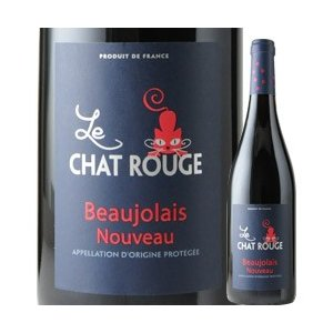 赤ワイン ボジョレー・ヌーヴォー ル・シャ・ルージュ 2017年 フランス ブルゴーニュ ミディアムボディ 750ml wine|wsommelier