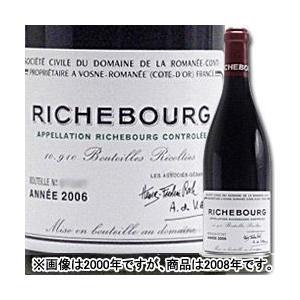 赤ワイン リシュブール ドメーヌ・ド・ラ・ロマネ・コンティ 2008年 フランス ブルゴーニュ フルボディ 750ml wine wsommelier