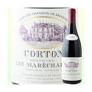 赤ワイン コルトン・レ・マレショード・グラン・クリュ ドメーヌ・シャンドン・ド・ブリアイユ 1994年 フランス ブルゴーニュ ミディアムボディ 750ml wine|wsommelier