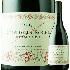 ワイン 赤ワイン クロ・ド・ラ・ロッシュ・グラン・クリュ パスカル・マルシャン 2013年 フランス ブルゴーニュ フルボディ 750ml wine|wsommelier