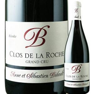 ワイン 赤ワイン クロ・ド・ラ・ロッシュ・グラン・クリュ アンヌ エ セバスティアン ビドー 2013年 フランス ブルゴーニュ フルボディ 750ml|wsommelier