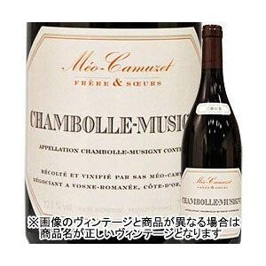 ワイン 赤ワイン シャンボールミュジニー メオ・カミュゼ・フレール・エ・スール 2016年 フランス ブルゴーニュ フルボディ 750ml wine|wsommelier