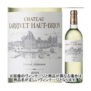 白ワイン シャトー・ラリヴェ・オー・ブリオン ブラン 2003年 フランス ボルドー 辛口 750ml wine...