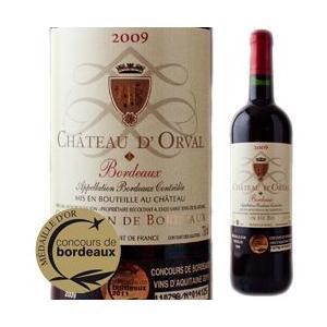 赤ワイン  シャトー・ドルヴァル 2009年 フランス・ボルドー フルボディ 750ml wine|wsommelier
