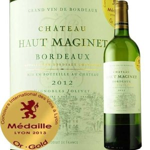 白ワイン シャトー・オー・マジネ・ブラン 2012年 フランス ボルドー 辛口 750ml wine|wsommelier