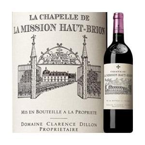 ワイン 赤ワイン ラ・シャペル・ド・ラ・ミッション・オー・ブリオン 2011年 フランス ボルドー フルボディ 750ml wine|wsommelier