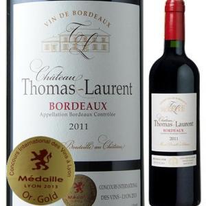 赤ワイン シャトー・トマ・ローラン 2011年 フランス ボルドー フルボディ 750ml wine|wsommelier