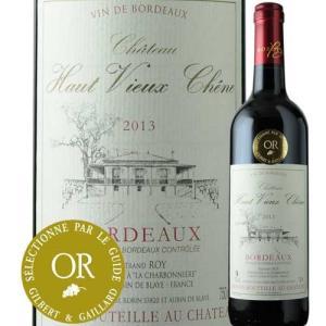 赤ワイン シャトー・オー・ヴュー・シェーヌ 2013年 フランス ボルドー フルボディ 750ml wine|wsommelier