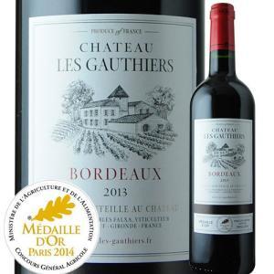 赤ワイン シャトー・レ・ゴティエ 2013年 フランス ボルドー フルボディ 750ml wine|wsommelier