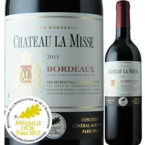 赤ワイン シャトー・ラ・ミス 2011年 フランス ボルドー フルボディ 750ml wine|wsommelier