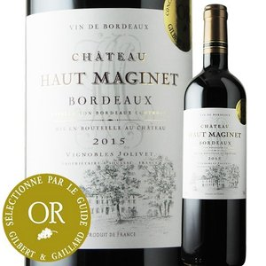 赤ワイン シャトー・オー・マジネ 2015年 フランス ボルドー フルボディ 750ml wine|wsommelier