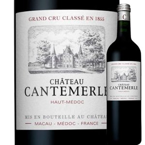 ワイン 赤ワイン シャトー・カントメルル 2007年 フランス ボルドー フルボディ 750ml wine wsommelier