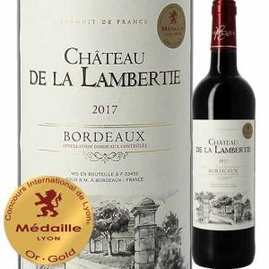 ワイン 赤ワイン シャトー・ド・ラ・ランベルティ 2017年 フランス ボルドー フルボディ 750ml wine|wsommelier