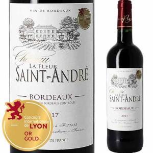ワイン 赤ワイン シャトー・ラ・フルール・サン・タンドレ 2017年 フランス ボルドー フルボディ 750ml wine|wsommelier