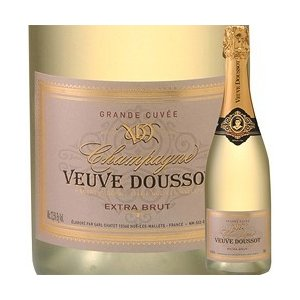 ワイン シャンパン・スパークリングワイン エクストラ・ブリュット ヴーヴ・ドゥソー NV フランス シャンパーニュ 白 辛口 750ml wine