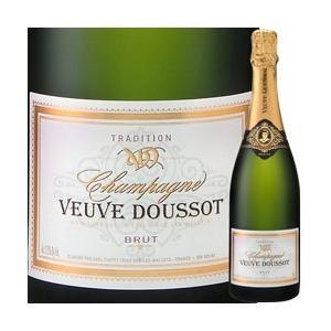 シャンパン・スパークリングワイン ブリュット・トラディション ヴーヴ・ドゥソー NV フランス シャンパーニュ 白 辛口 750ml wine|wsommelier