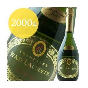[2000]ミレジム ブラン・ド・ノワール ジャン・ローラン シャンパーニュ フランス(750ml 泡 シャンパン)|wsommelier