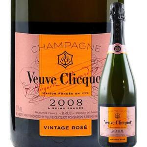 シャンパン・スパークリングワイン ヴーヴ・クリコ・ヴィンテージ・ロゼ ヴーヴ・クリコ 2008年 フランス シャンパーニュ シャンパン・ロゼ - 750ml wine