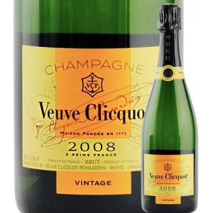 シャンパン・スパークリングワイン ヴーヴ・クリコ・ヴィンテージ ヴーヴ・クリコ 2008年 フランス シャンパーニュ シャンパン 白 - 750ml wine|wsommelier