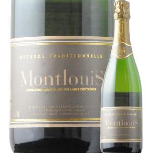 シャンパン・スパークリングワイン キュヴェ・ブリュット カーヴ・ド・モンルイ NV フランス ロワール 白 辛口 750ml wine