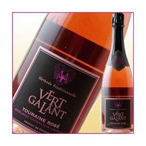 シャンパン・スパークリングワイン トゥーレーヌ・ロゼ・ヴェール・ガラン カーヴ・ド・モンルイ NV フランス ロワール ロゼ 辛口 750ml wine|wsommelier
