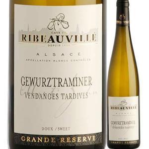 白ワイン ゲヴュルツトラミネール・ヴァンダンジュ・タルティヴ カーヴ・ド・リボヴィレ 2007年 フランス アルザス 極甘口 750ml wine|wsommelier