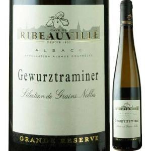 白ワイン ゲヴュルツトラミネール・セレクション・ド・グラン・ノーブル カーヴ・ド・リボヴィレ 2005年 フランス アルザス 極甘口 750ml wine|wsommelier