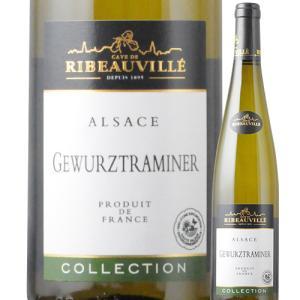 ワイン 白ワイン ゲヴュルツトラミネール・コレクション カーヴ・ド・リボヴィレ 2017年 フランス アルザス 中甘口 750ml wine|wsommelier