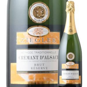 SALE ワイン スパークリングワイン ジーグラー・クレマン・ダルザス  カーヴ・ド・ベブレンハイム NV フランス アルザス 750ml wine|wsommelier
