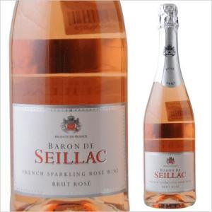 シャンパン・スパークリングワイン バロン・ド・セヤック・ブリュット・ロゼ ヴァン・ブレバン NV フランス プロヴァンス ロゼ 辛口 750ml wine|wsommelier