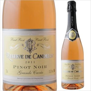 ワイン シャンパン・スパークリング レゼルヴ・ド・シャンドロン・ブリュット・ロゼ ヴァン・ブレバン NV フランス プロヴァンス ロゼ 辛口 750ml wine|wsommelier