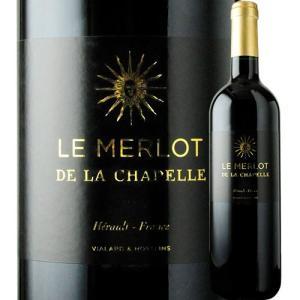 「1本でも送料無料」ワイン 赤ワイン ル・メルロ・ド・ラ・シャペル ドメーヌ・サン・ドミニク 2018年 フランス ラングドック・ルシヨン フルボディ 750ml|wsommelier