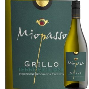 ワイン 白ワイン ミオパッソ・グリッロ ワイン・ピープル 2017年 イタリア シチリア 辛口 750ml wine|wsommelier