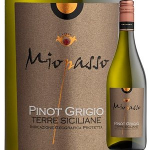ワイン 白ワイン ミオパッソ・ピノ・グリージョ ワイン・ピープル 2017年 イタリア シチリア 辛口 750ml wine|wsommelier