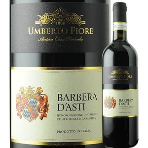 ワイン 赤ワイン バルベーラ・ダスティ DOCG ウンベルト・フィオーレ 2015年 イタリア ピエモンテ フルボディ 750ml wine|wsommelier