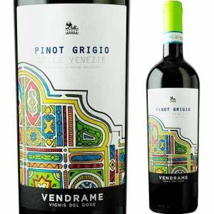 「1本でも送料無料」ワイン 白ワイン ピノ・グリージョ ヴェンドラーメ 2017年 イタリア フリウリ・ヴェネツィア・ジュリア 辛口 750ml wine wsommelier